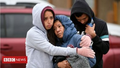 Photo of Colorado gunman killed six at party 'as he was not invited'