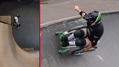 Photo of WCMX: The backflipping wheelchair star helping others