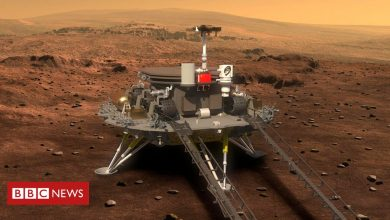 Photo of China lands its Zhurong rover on Mars