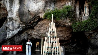 Photo of Lourdes: Pilgrims flock to French sanctuary online in their millions