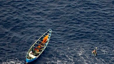 Photo of Teen girl found in boat drifting for three weeks at sea