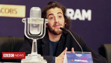 Photo of Eurovision winner Salvador Sobral says contest is history for him