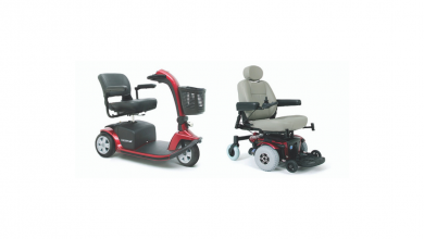 Photo of The typical difficulties with a power chair