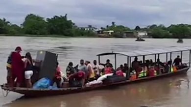 Photo of The Venezuelans fleeing to Colombia to avoid fighting