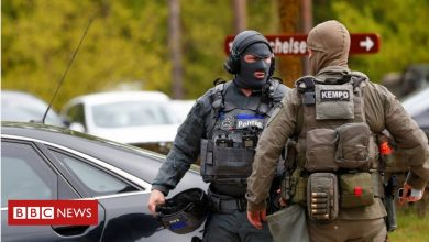 Photo of Belgian national park shut in hunt for far-right soldier