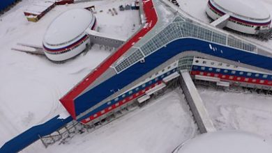 Photo of Inside Russia's Trefoil military base in the Arctic