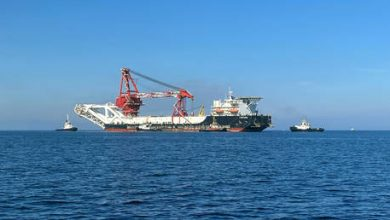 Photo of Fortuna pipe-laying vessel resumes work on Nord Stream 2 in German waters