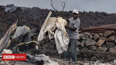 Photo of DR Congo's Goma volcano: Desperate search for children missing after eruption