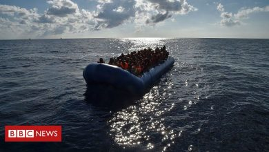 Photo of Dead children washed up on Libya beach, says charity