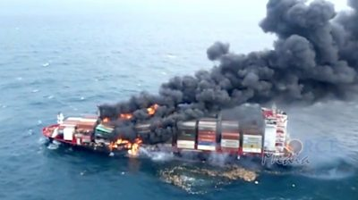 sri-lanka-navy-rescue-crew-following-chemical-fire-on-cargo-ship