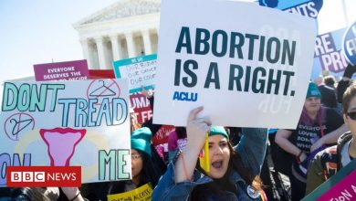 Photo of The looming battle over abortion in the US