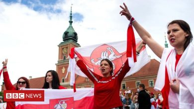 Photo of Belarus: Hundreds join global solidarity protests