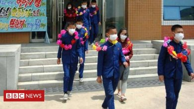 Photo of North Korea says orphan children volunteering on mines and farms
