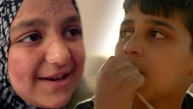 Photo of Two children, a decade of war in Syria