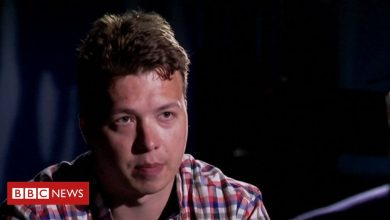 Photo of Roman Protasevich: Journalist appears on state television