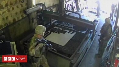 Photo of US troops accidentally raid sunflower oil factory