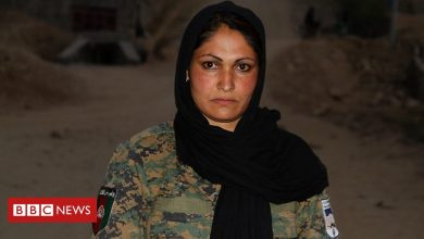 Photo of The Afghan policewoman facing abuse at work