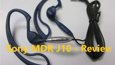 Photo of Sony MDR-J10 Review
