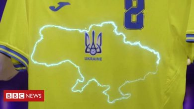 Photo of Russia complains to Uefa over Ukraine's 'political' Euro 2020 jersey