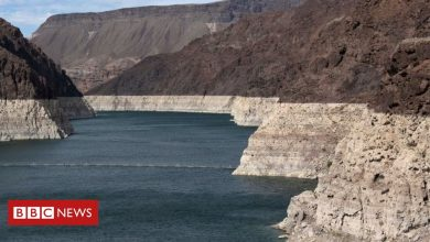 Photo of Lake Mead: Largest US reservoir dips to record low