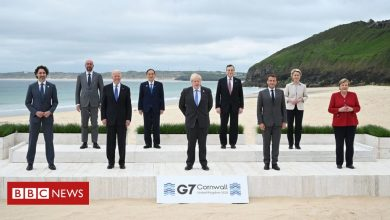 Photo of G7 summit: Spending plan to rival China adopted