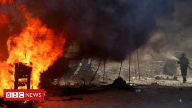Photo of Moria migrant camp fire: Four Afghans sentenced to 10 years in jail