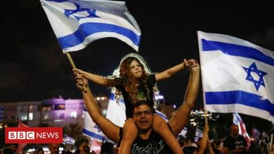 Photo of 'We hope it's the beginning of a new Israel'