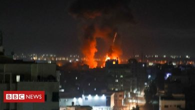 Photo of Israel strikes in Gaza after arson balloons launched