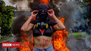 Photo of 'The risk you run': Colombia's women protesters on sexual violence