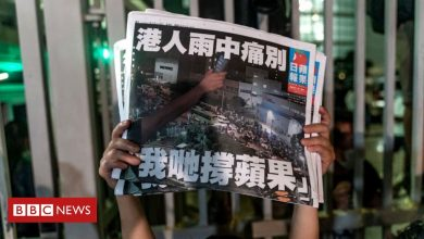 Photo of Apple Daily: Hong Kong bids emotional farewell to pro-democracy paper
