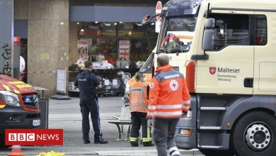Photo of German knife attack: Three dead and five wounded in Würzburg