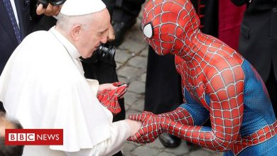 Photo of ICYMI: Spider-Man meets the Pope