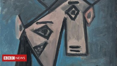 Photo of Picasso painting found in Athens years after gallery heist