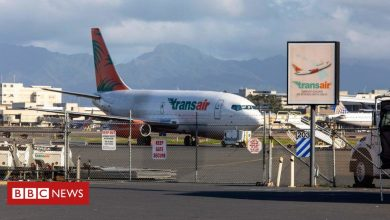 Photo of Boeing 737 cargo jet ditches into sea off Honolulu, Hawaii