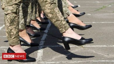 Photo of Ukraine plans for women to march in high heels spark outrage