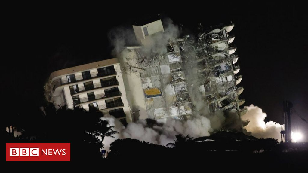 miami-collapse:-remaining-structure-demolished-over-safety-fears