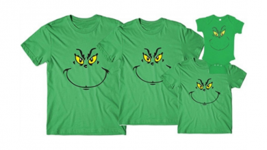 Photo of This Kids Grinch Shirt is Perfect for Christmas!
