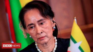 Photo of Myanmar's Aung San Suu Kyi fully vaccinated amid spike in cases