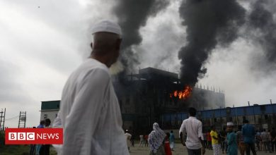 Photo of Bangladesh factory fire: At least 52 people killed in overnight blaze