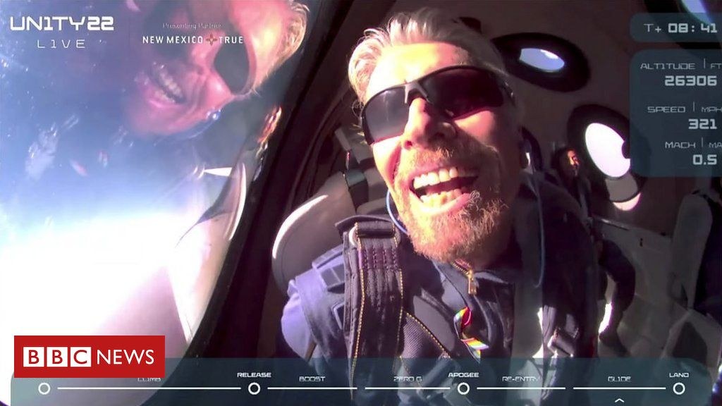 virgin-galactic:-sir-richard-branson's-flight-to-the-edge-of-space-(and-back)