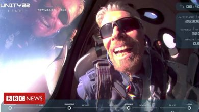 Photo of Virgin Galactic: Sir Richard Branson rockets to the edge of space