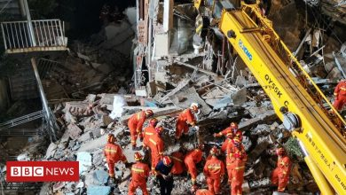 Photo of Hotel collapse in China's Suzhou kills 17, injures five