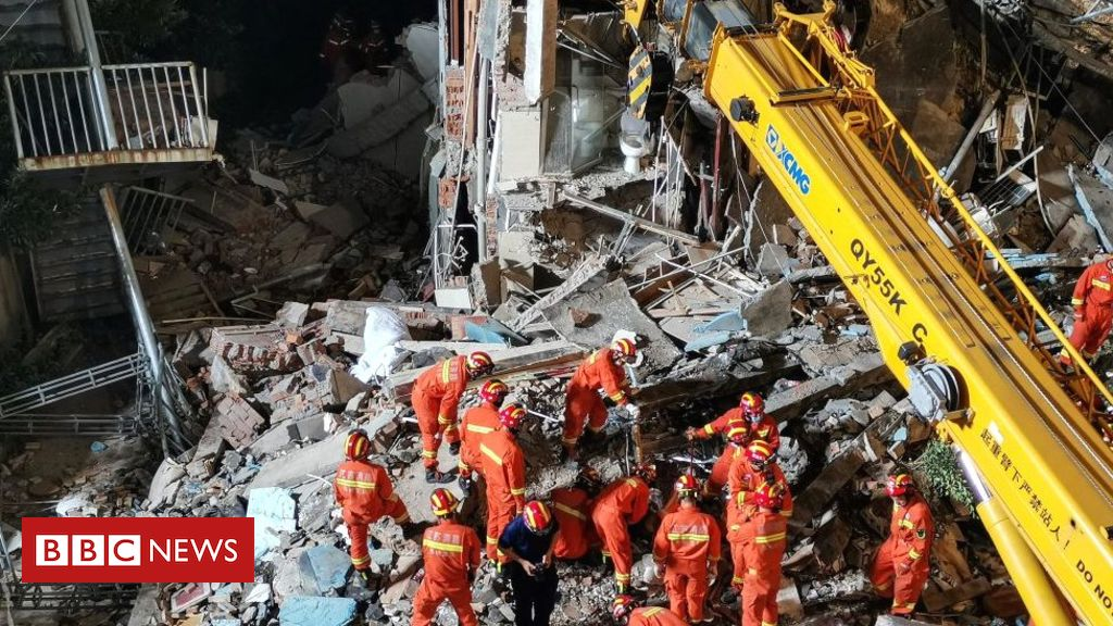 hotel-collapse-in-china's-suzhou-kills-17,-injures-five
