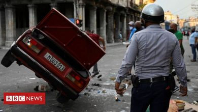 Photo of Cuba: Man confirmed killed in anti-government unrest