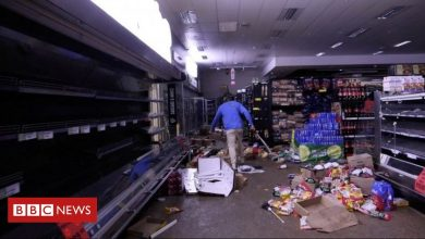 Photo of South Africa looting: I'm struggling to find food
