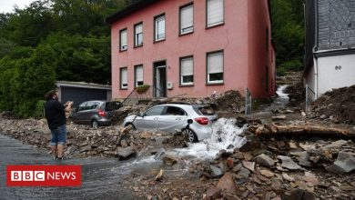 Photo of Germany floods: Merkel pledges support for victims