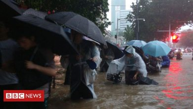 Photo of China floods: Thousands evacuated as rail stations and roads submerged