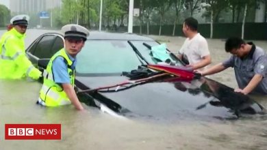 Photo of Severe floods hit China's Henan province