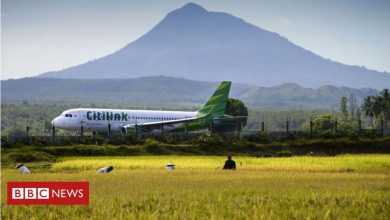 Photo of Indonesia: Covid-positive man boards flight disguised as wife
