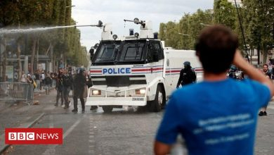 Photo of Clashes in Paris over Covid measures